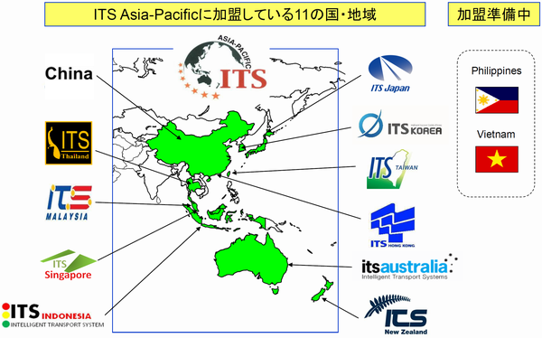 アジア太平洋地域ITSフォーラム | ITS Japan